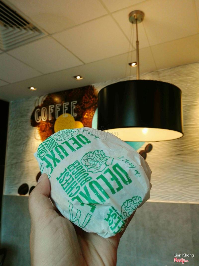Burger bò phô mai