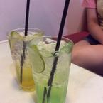 Soda lemon and passion