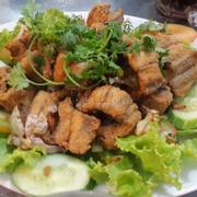 lươn chiên giòn