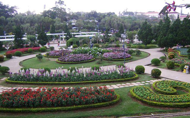 Vườn Hoa Thành Phố Đà Lạt ở Lâm Đồng