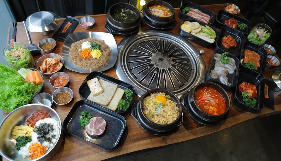 Meat & Meet Korean BBQ Container ở TP. HCM