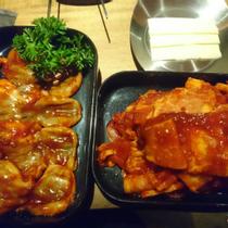 Meat & Meet Korean BBQ Container