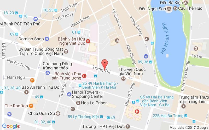 Bản đồ - Bếp Xuka - Ẩm Thực Việt