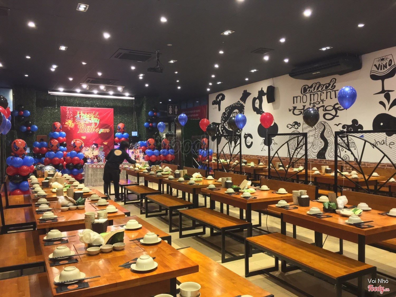 nhà hàng ngon nổi tiếng ở Hà Nội