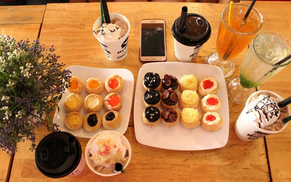 Bánh Su Kem Chewy Junior - Lotte Mart Nam Sài Gòn