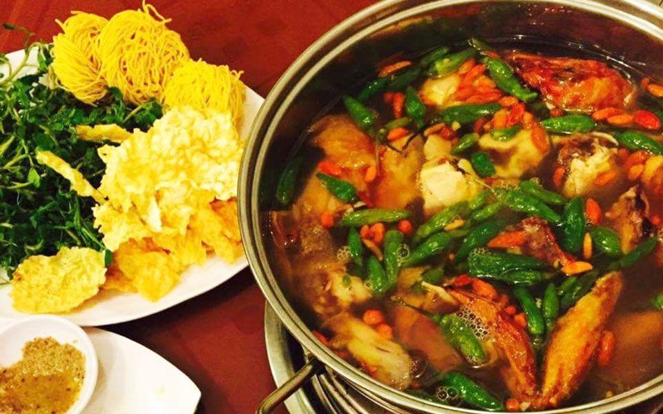 Lẩu Gà Tiềm Ớt Hiểm Chicken Kitchen - Delivery Only