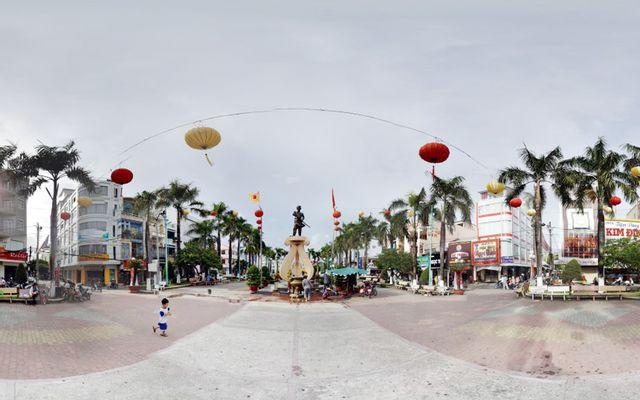 Công Viên Nguyễn Trung Trực ở Kiên Giang