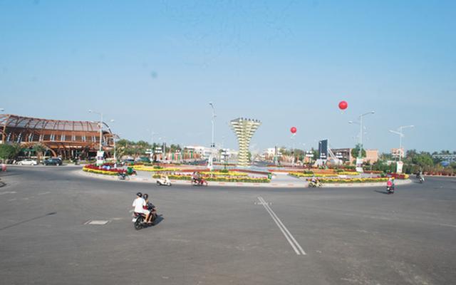 Quảng Trường Trần Quang Khải ở Kiên Giang