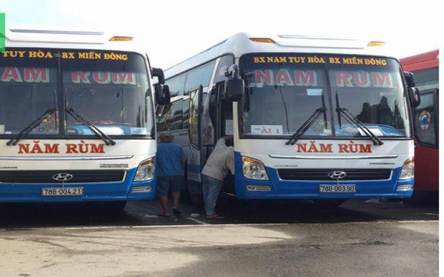 Xe Khách Năm Rùm - Bến Xe Nam Tuy Hòa ở Phú Yên