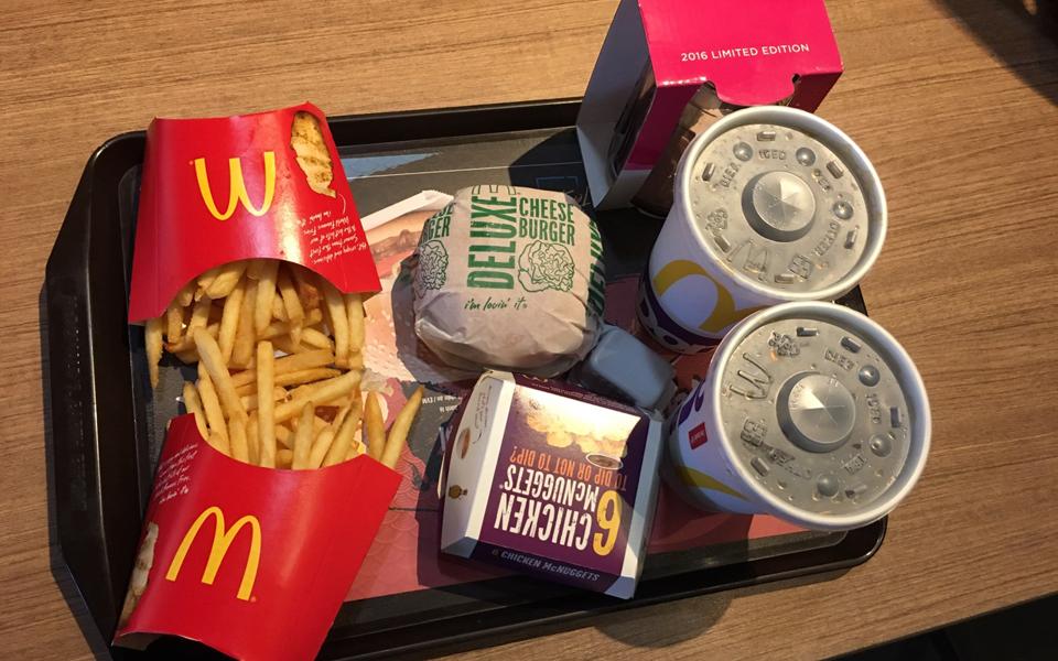 McDonald's - Âu Cơ