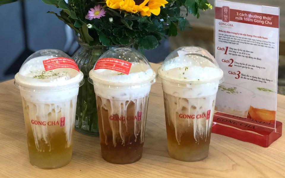 Trà Sữa Gong Cha - 貢茶 - Nguyễn Thái Bình
