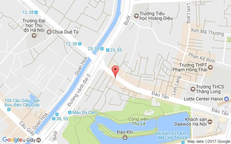Bản đồ - King BBQ Buffet - Đào Tấn