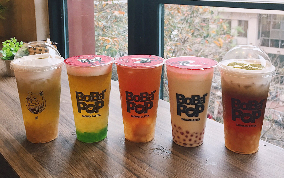 Trà Sữa Bobapop - Mặt Sau Crescent Mall