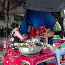 Chè Chuối Nướng - Chợ Xóm Mới