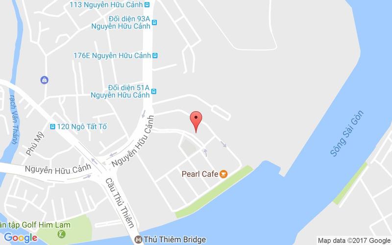 Bản đồ - Thai Blah Blah - Chuyên Các Món Thái - Nguyễn Hữu Cảnh