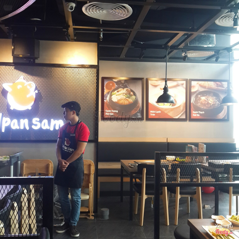 nhà hàng buffet lẩu nướng ngon ở Hà Nội_Dolpan Sam