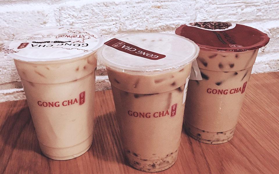 Trà Sữa Gong Cha - Times City