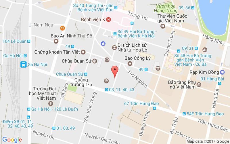 Bản đồ - Món Ngon Sài Thành - Dã Tượng