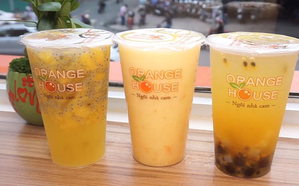 Orange House - Trà Trái Cây Tươi - Nguyễn Văn Cừ