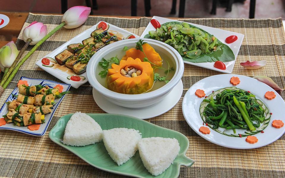 Bếp Chay Hoa Gạo