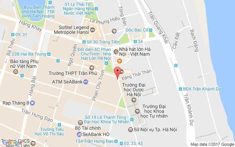 Bản đồ - LUK LAK - Vietnamese Restaurant