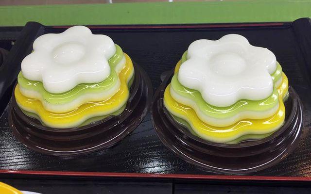 Rainbow Jelly Cake - Thạch Rau Câu & Đồ Ăn Vặt ở Hà Nội