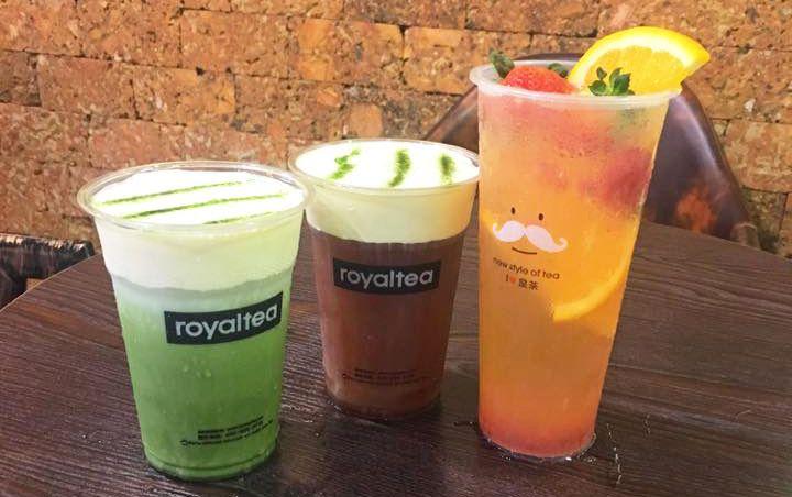 Royaltea - Trà Sữa Hồng Kông - Đào Tấn