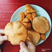 Bánh Bao Chiên & Bánh Quẩy Đùi Gà - Quan Nhân