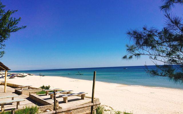 Biển Hải Ninh ở Quảng Bình