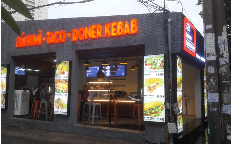 Bánh Mì Taco Doner Kebab