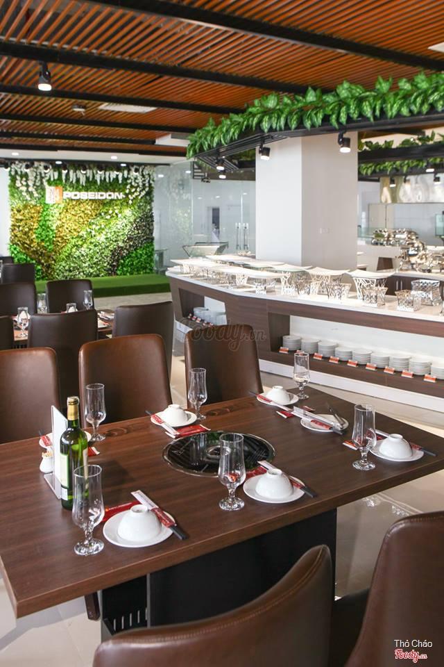 buffet hải sản ngon tại hà nội_Buffet Poseidon