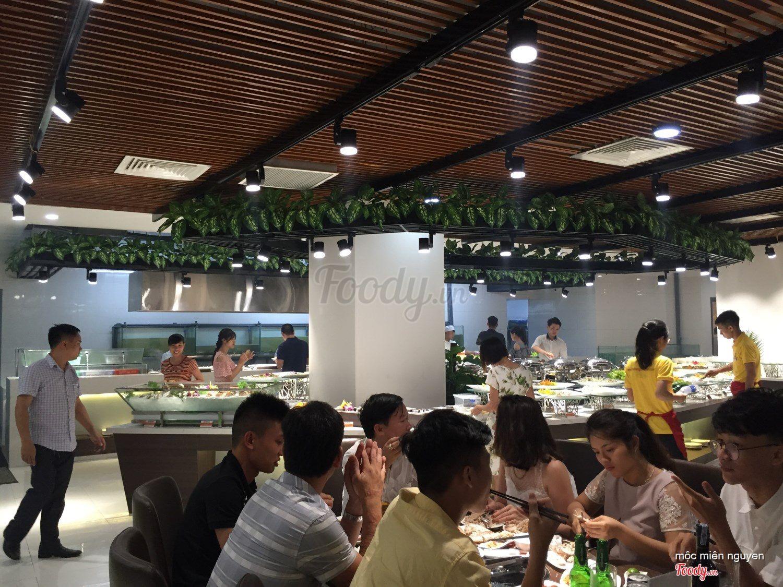 buffet trưa ngon, rẻ ở Hà Nội_Buffet Poseidon