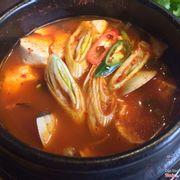 Soup đậu hũ cay