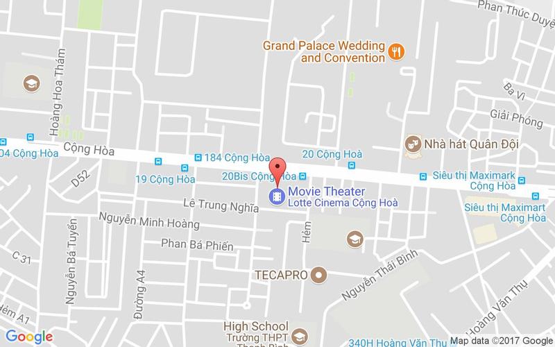 Bản đồ - D'Maris - Buffet Cao Cấp - Pico Lotte
