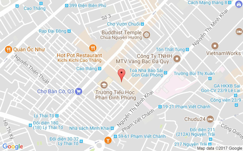 Bản đồ - Lẩu Hoàng Yến - Cao Thắng Mall