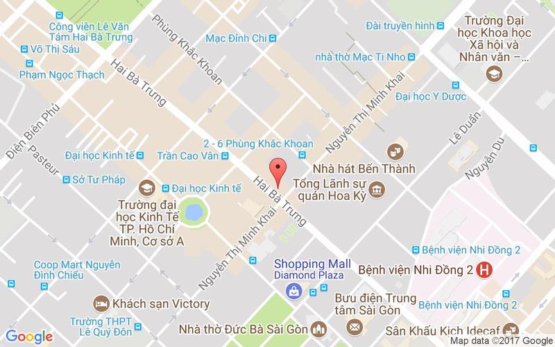 Bản đồ - Baozi - Ẩm Thực Đài Loan - Hai Bà Trưng