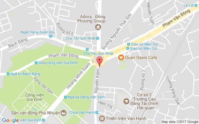 Bản đồ - Food House - Nguyễn Kiệm