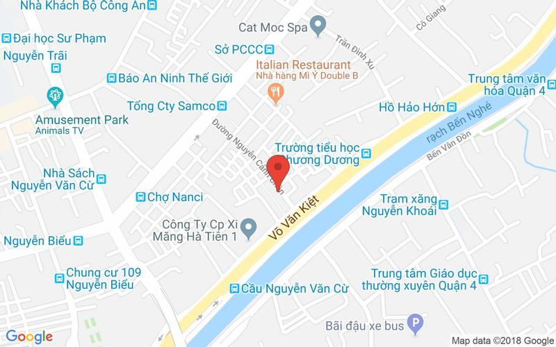 Bản đồ - Thái Ngon Ngon - Ẩm Thực Thái - Nguyễn Cảnh Chân