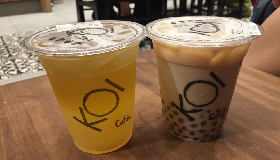Koi Thé Café - The Garden Mall