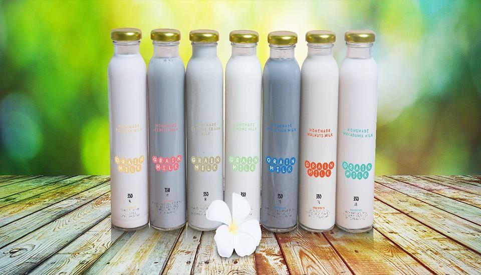 Grain Milk - Sữa Dinh Dưỡng Từ Các Loại Hạt