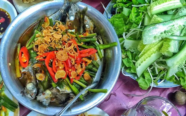 Bà Xin - Cá Nục Hấp - Ông Ích Khiêm ở Đà Nẵng