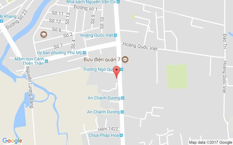 Bản đồ - Food House - Huỳnh Tấn Phát