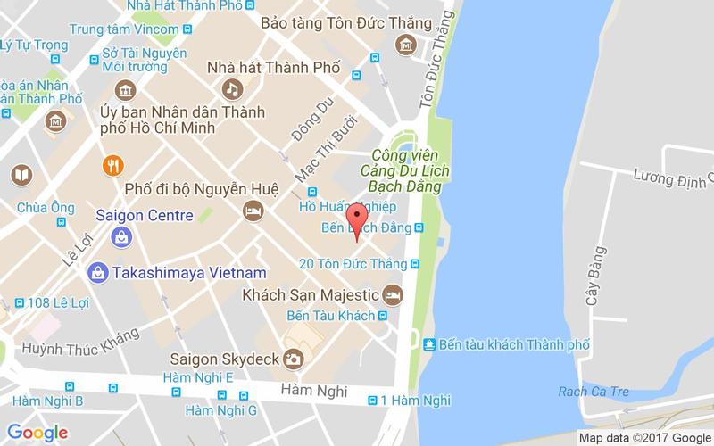 Bản đồ - Jaspas Café & Grill - Đồng Khởi