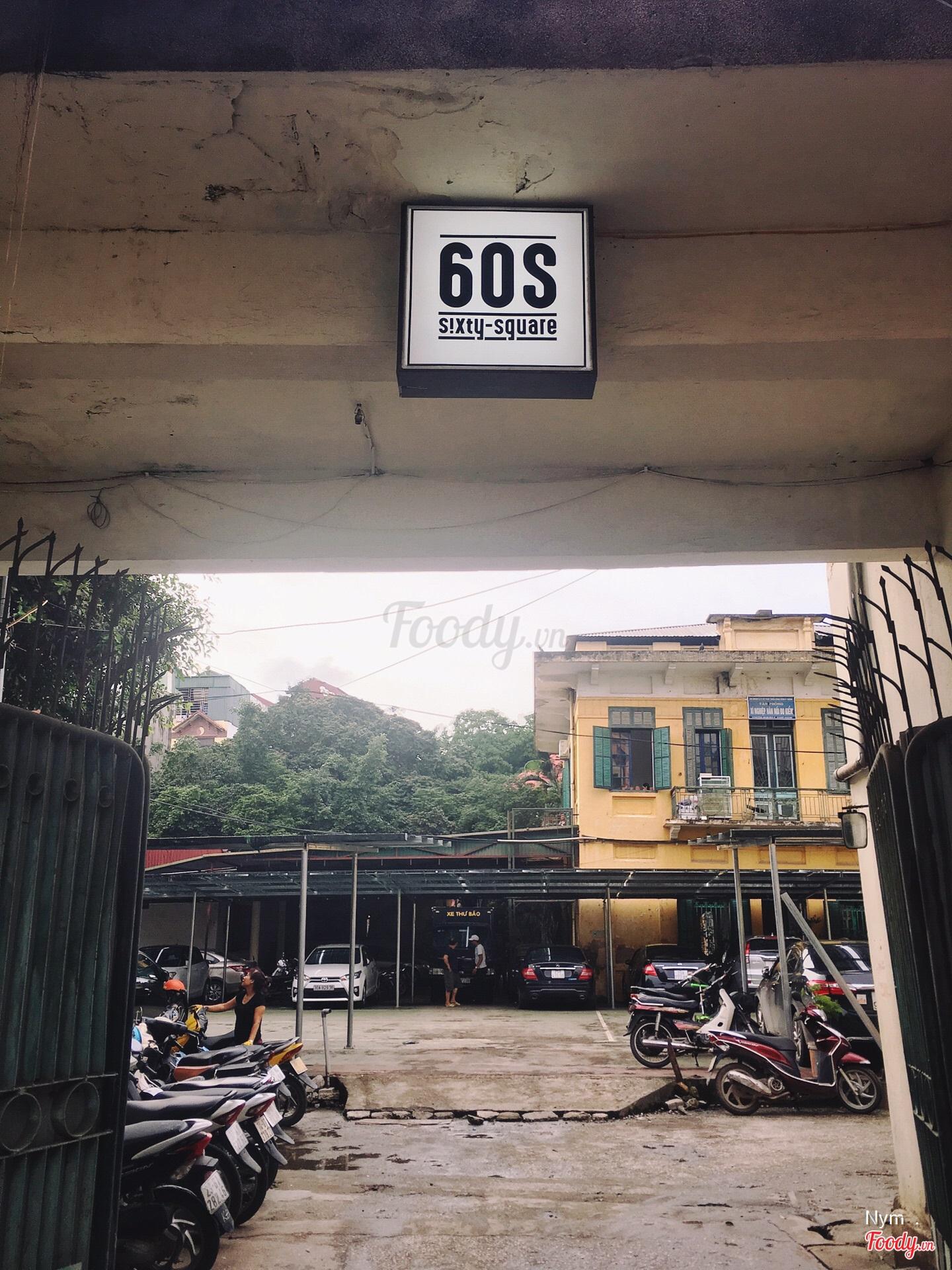 ... thì tới nay giới trẻ Hà Thành lại có thêm một địa điểm checkin mới  toanh mang hơi hướng hoài cổ đó chính là khu tổ hợp vui chơi 60s – Sixty  Square!!!