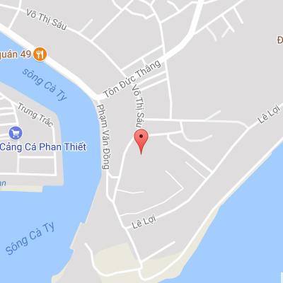 Đối Diện Quán 135 Võ Thị Sáu Tp. Phan Thiết Bình Thuận