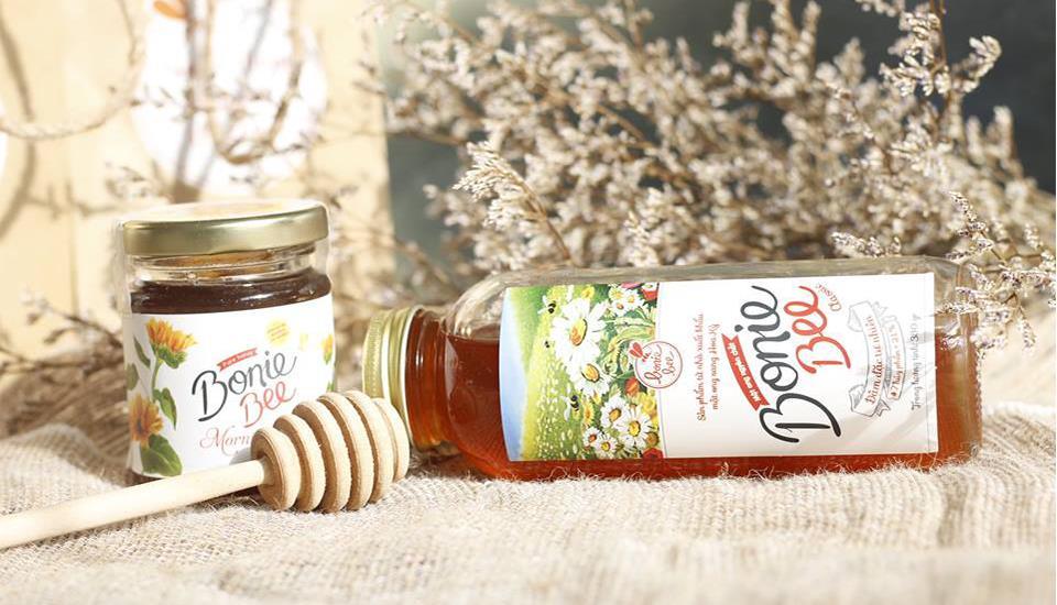 Bonie Bee - 100% Mật Ong Nguyên Chất Tự Nhiên