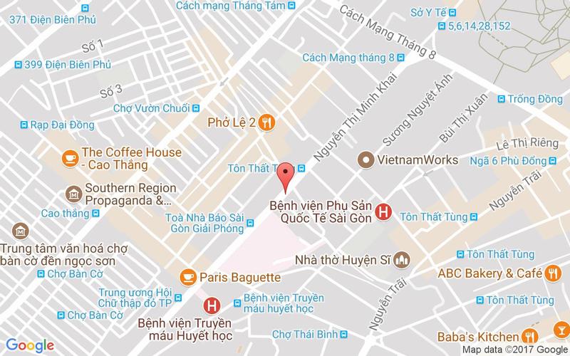 Bản đồ - Gyu Shige - Nướng Nhật Bản - Nguyễn Thị Minh Khai