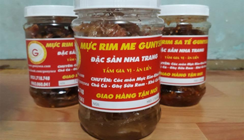 Gunysea - Mực Rim Me (Đặc Sản Nha Trang)