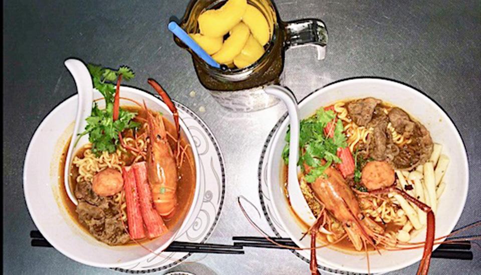 Mỳ Thái Cay Tôm Càng