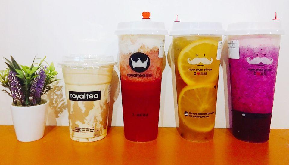 Royaltea - Trà Sữa Hồng Kông - Hồng Hà